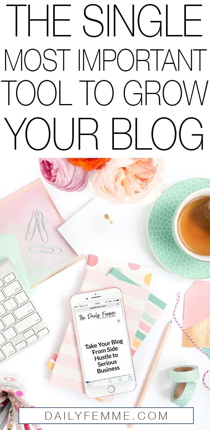 Have you got the latest tool to grow your blog? Are you researching like mad to find out what it is? This is the single most important tool you'll ever need. Is it what you thought it would be?