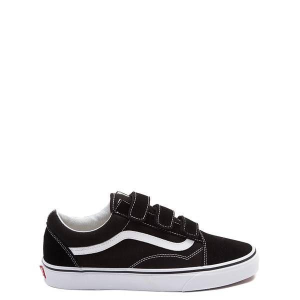 425495 Vans Old Skool V Skate Shoe black