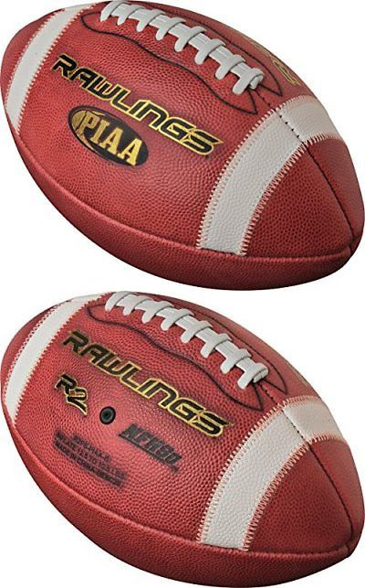 94073de5a73 Footballs 21220  New Rawlings R2 Piaa Approved Leather Football Official  Size Brown State Playoff -  BUY IT NOW ONLY   24.95 on  eBay  footballs   rawlings ...