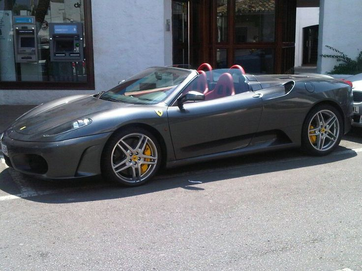 Ferrari cab