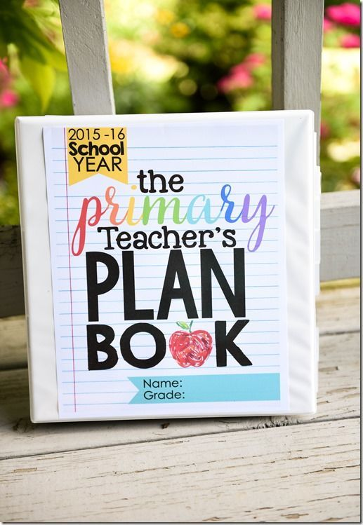 The Primary Teacher's Plan Book (Editable!)
