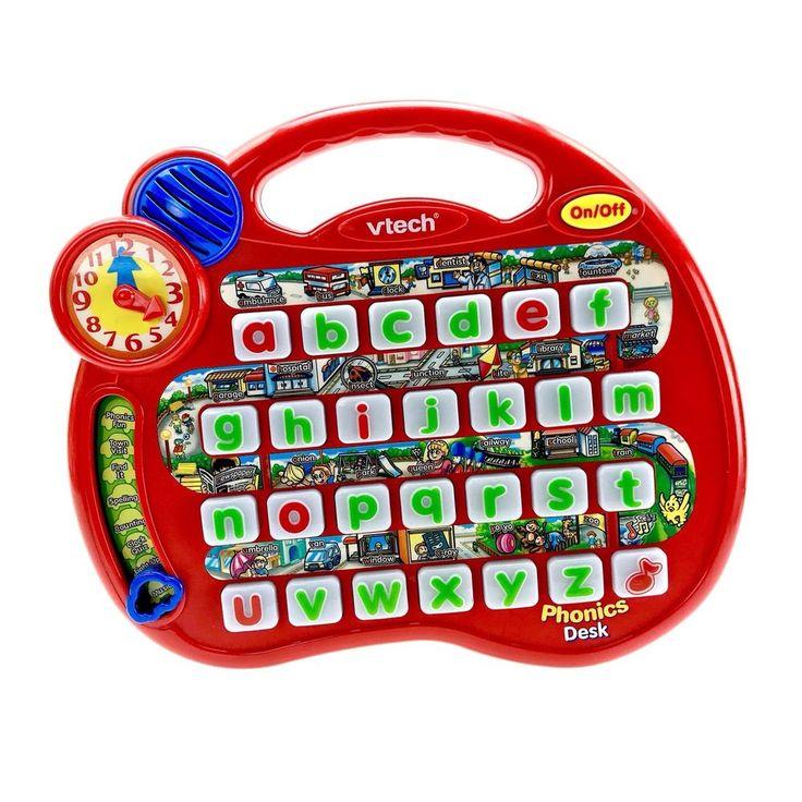 Vtech Phonics Desk Alphabet electronic tablet learning ...