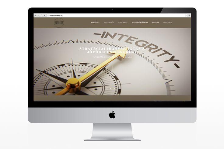 Berényi and Partners website