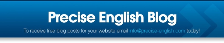 Free optimised blog posts from Precise English!