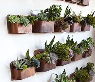 Our Rust Wall Planters are perfect for indoor herb gardens or planters for your sunroom! You can also use these for storing magazines and other files in your of