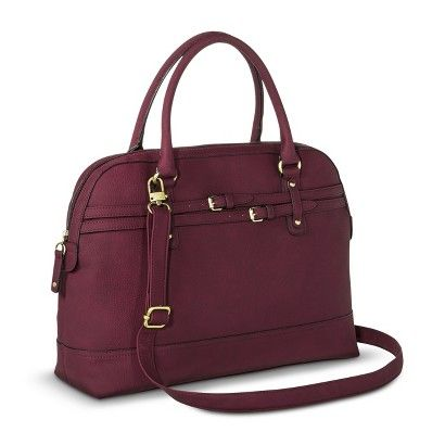 This color is so pretty but i also like it in grey Women's Work Tote Handbag - Burgundy