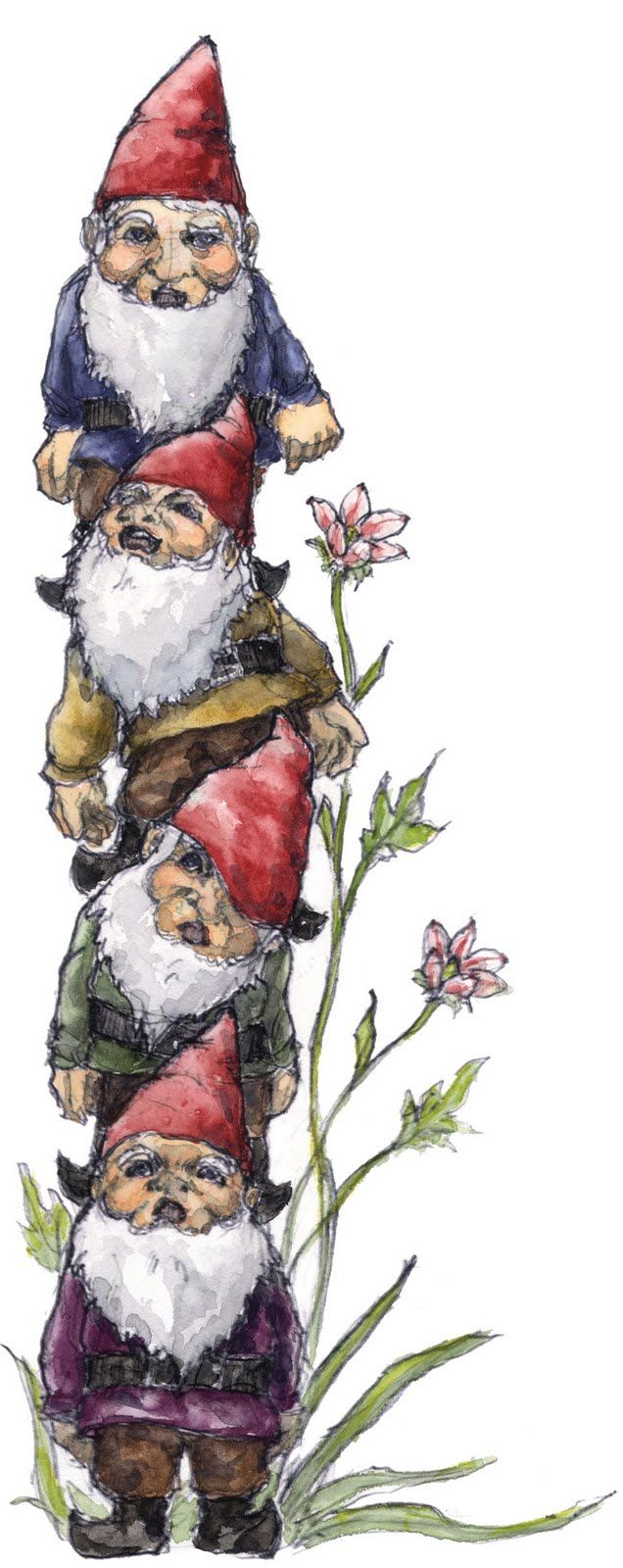 Gnome Tower Gnomes Pinterest Gnomes Fairy And