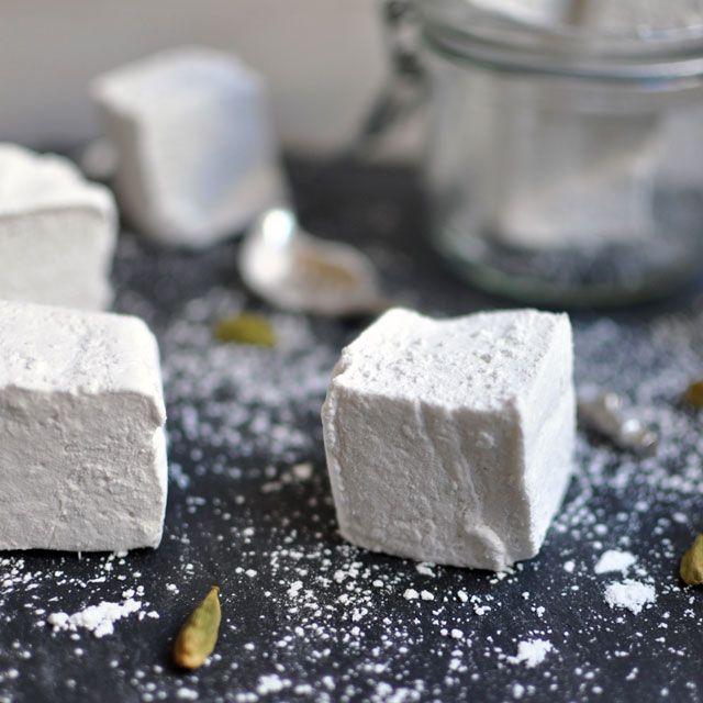Double Vanilla and Cardamom Marshmallows || Turntable Kitchen.