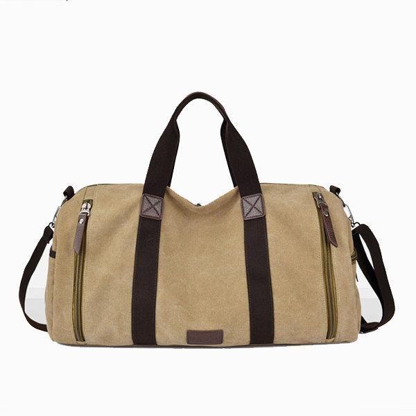 Canvas <b>Large Capacity Casual</b> Travel <b>Bag</b> Luggage <b>Bag</b> Handbag ...