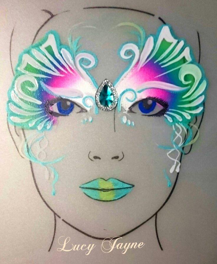 Lucy Jayne's mask