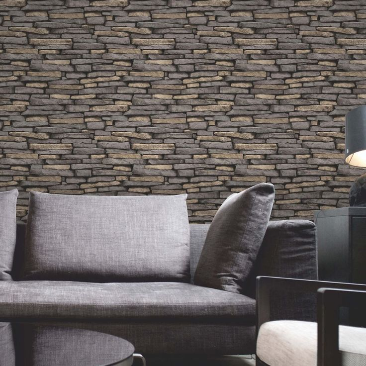 Fine Decor Natural Stone Effect Wallpaper    This fantastically realistic Fine Decor Natural Stone Effect Wallpaper will make a great feature in any room! The design is based on a rustic natural and grey coloured stone andis printed on to luxury heavyweight paper to ensure durability and a quality finish.     Realistic rustic stone design wallpaper     10m (32.8 ft) long, 52cm (20.5 in) wide     53cm pattern repeat     Luxury heavyweight wallpaper     Easy to apply     Colour: Natural/G...