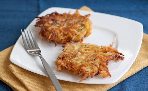 Epicure's Carrot and Zucchini Latkes