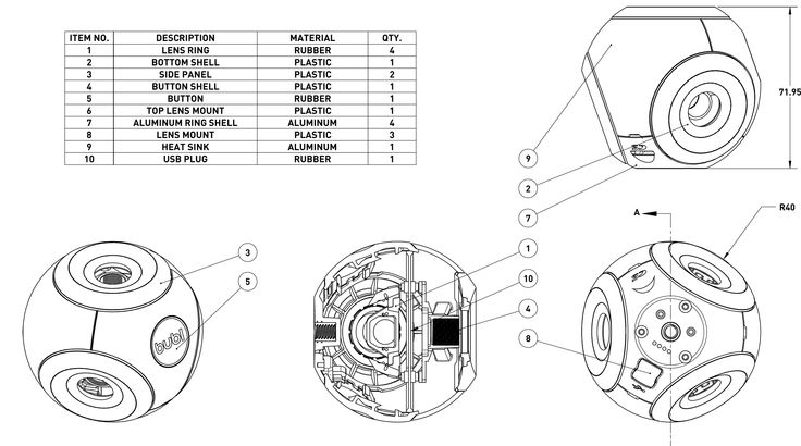 360º Technology for Everyone - Internal design spec