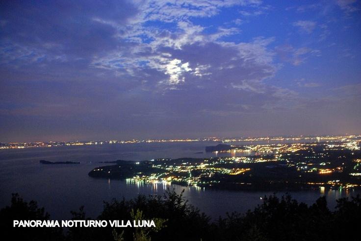 Notte incantata Villa Luna salò