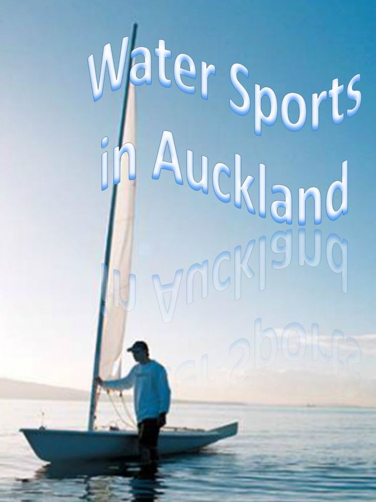 Auckland has every type of water sport to enjoy from diving, fishing, swimming, sailing - read more
