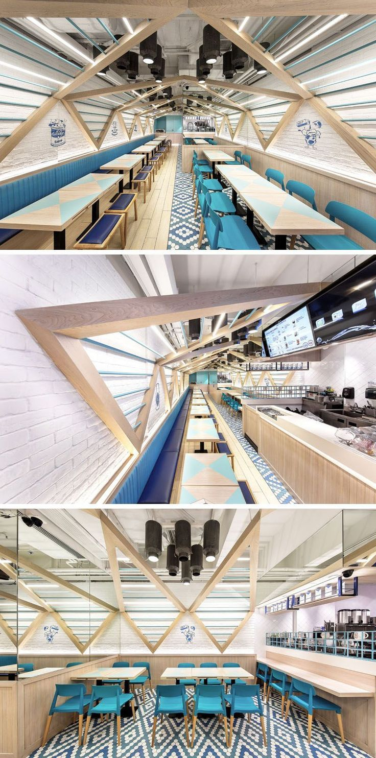 Atelier E Have Completed This Modern Restaurant Design Thats Inspired By Elements Found In A Traditional