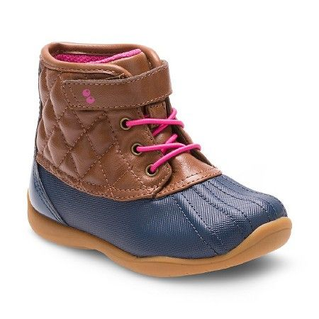 Toddler Girls' Surprize by Stride Rite Miram Duck Boots - Brown : Target
