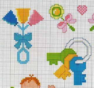 Atelier da Kátia: GRAFICOS INFANTIS - PONTO CRUZ