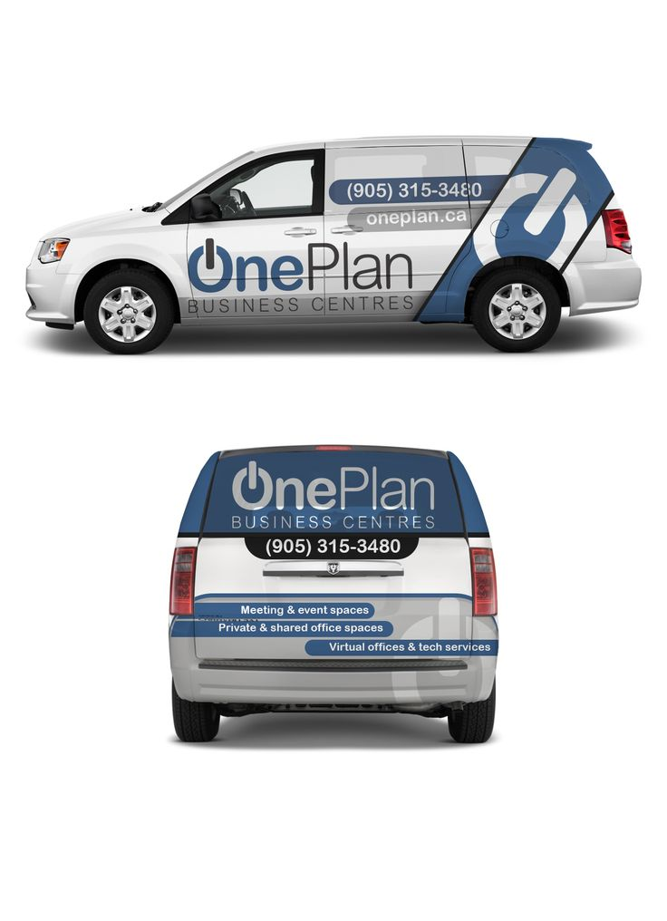 Design #14 by CreativeBomb | Create an eye-catching van wrap for OnePlan Business Centres