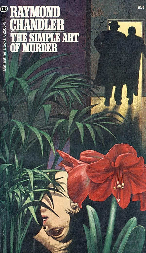 The Simple Art of Murder by Raymond Chandler, Cover by Tom Adams