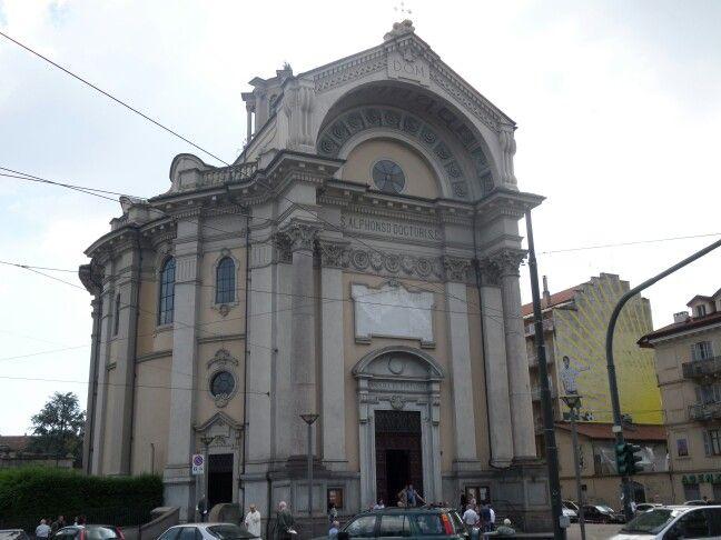 #Torino via cibrario Chiesa di Sant'Alfonso , stile eclettico, fine 1800