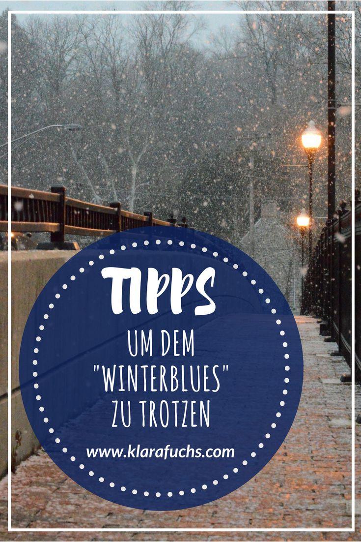 7 Tipps gegen den Winterblues / (Sport-)Motivation in der dunklen Zeit - KlaraFuchs.com // Trotze dem Winterblues und bekomme mehr Energie - auch in der dunklen, trüben Jahreszeit! Es ist möglich glücklich und gesund durch die dunkle Zeit zu kommen. Mentalcoach Klara Fuchs // #winterblues #winterdepression #gesundheit #energie #wintersport