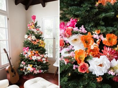 It's time to get that Christmas tree out, folks – and here's a particularly lovely way to spruce it up!