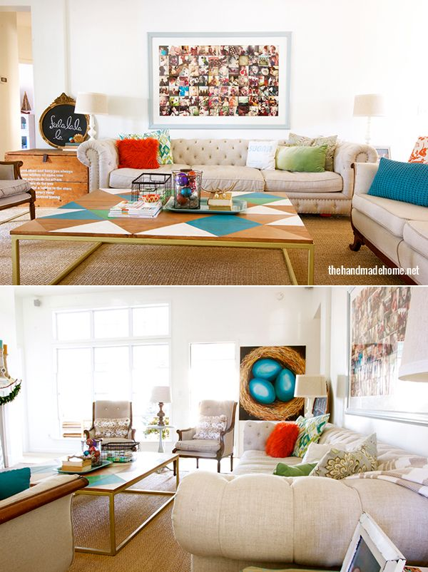 Make your own coffee table affordable options home for Create your own coffee table