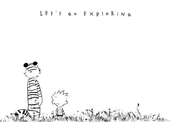 Calvin and Hobbes by TLCampbellArt on Etsy