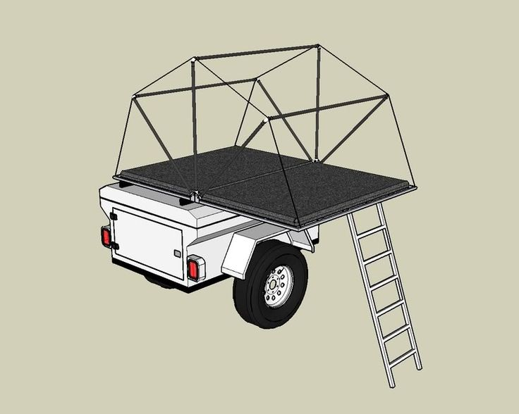 Tent trailer design