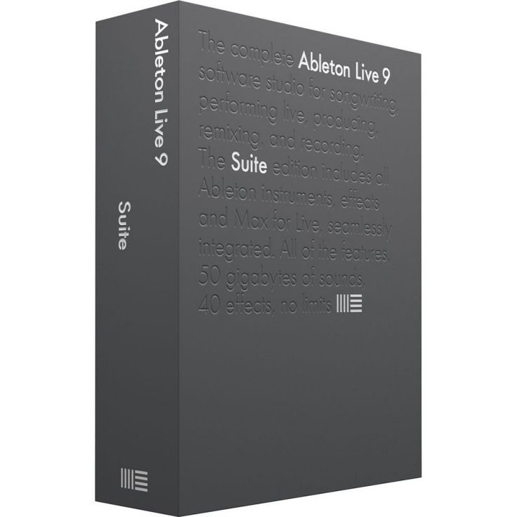 Ableton Live 9.6 Suite Production & Performance DAW Software