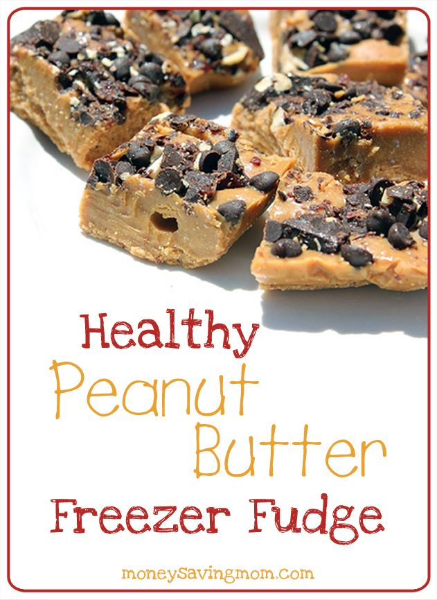 This homemade Peanut Butter Fudge is amazingly good -- and it's packed with nutritious ingredients. Seriously... check out the recipe to see for yourself!