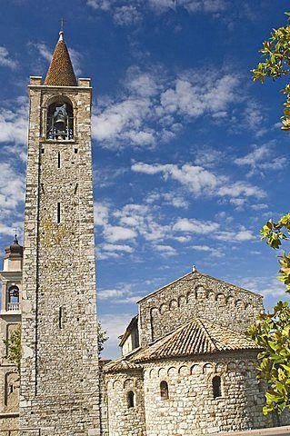 St. Severus Romanesque church, Bardolino, Lake Garda, Veneto, Italy, Europe