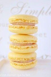 macaron citron pierre herme recette lemon curd c'est maman