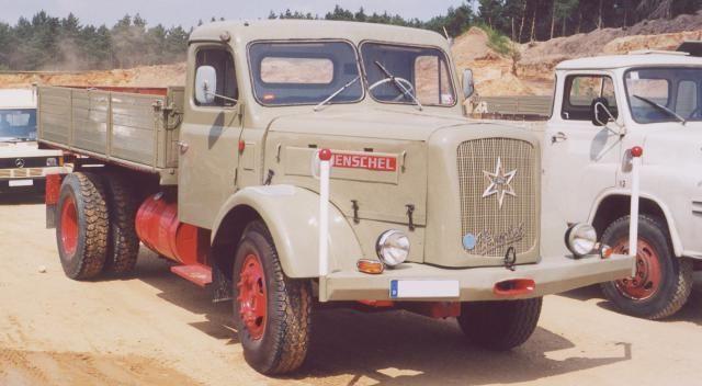 1954 Henschel HS 140 K Kipper