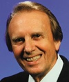 James Blackwood  1919-2002  Blackwood Quartet one of best in Gospel Music in 1950's  Two members killed in plane crash and he sang with the Statesmen and developed The Masters V   Hallof Fame inductee in 1997