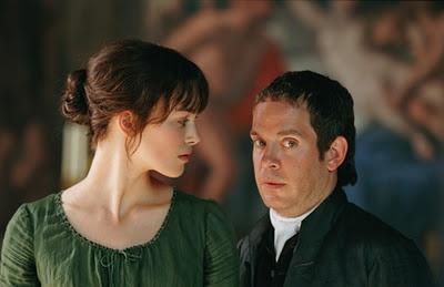 Keira Knightley (Elizabeth Bennet) & Tom Hollander (Mr. Collins) - Pride & Prejudice (2005) #janeausten #joewright