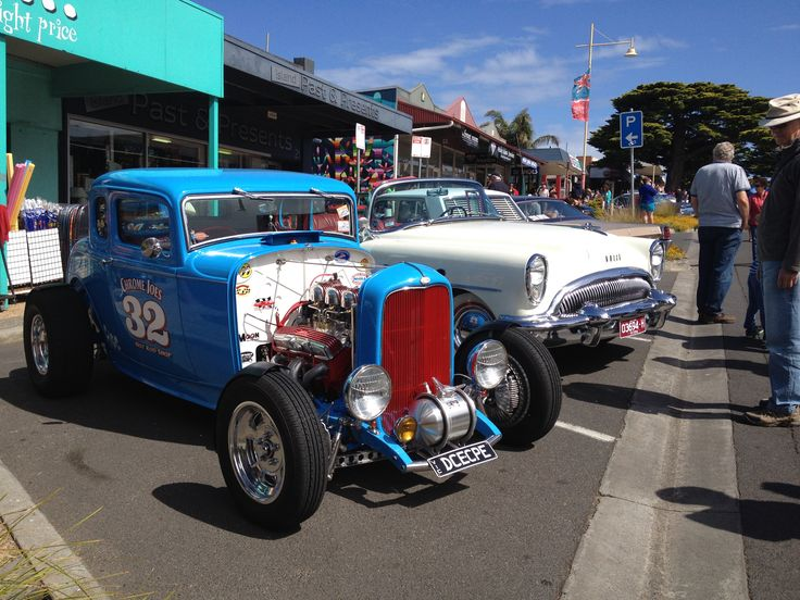 The visit of the Kustom Nats every January is always popular