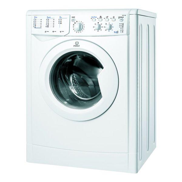 Lavadora secadora Indesit IWDC71680ECO(EU) de 7 Kg y 1.600 rpm