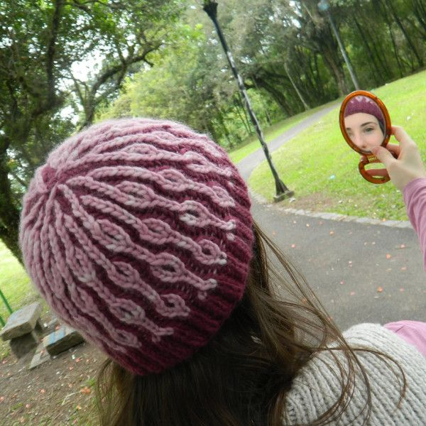Brioche Stitch - Drift Hat