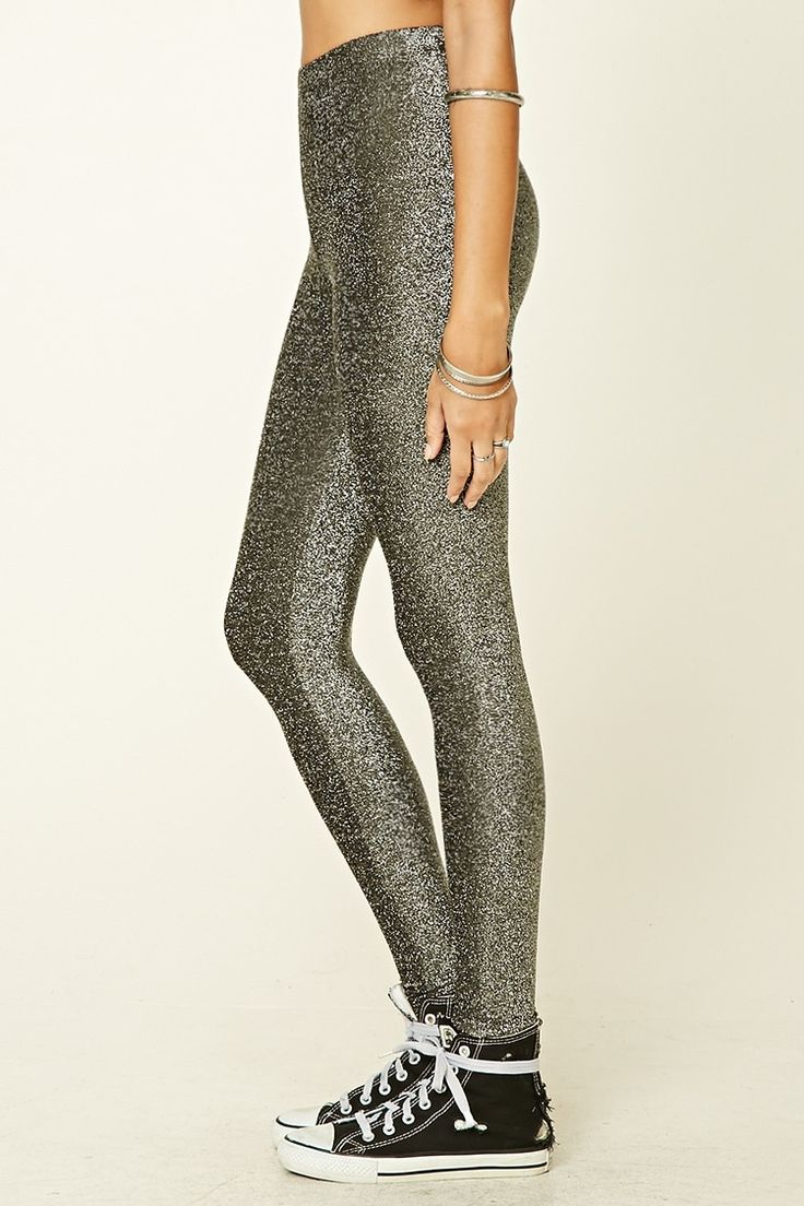 LEGGINS FOREVER 21 ULTIMA TENDENCIA SPRING/SUMMER 2017. BRILLO. GLITTER. LUREX