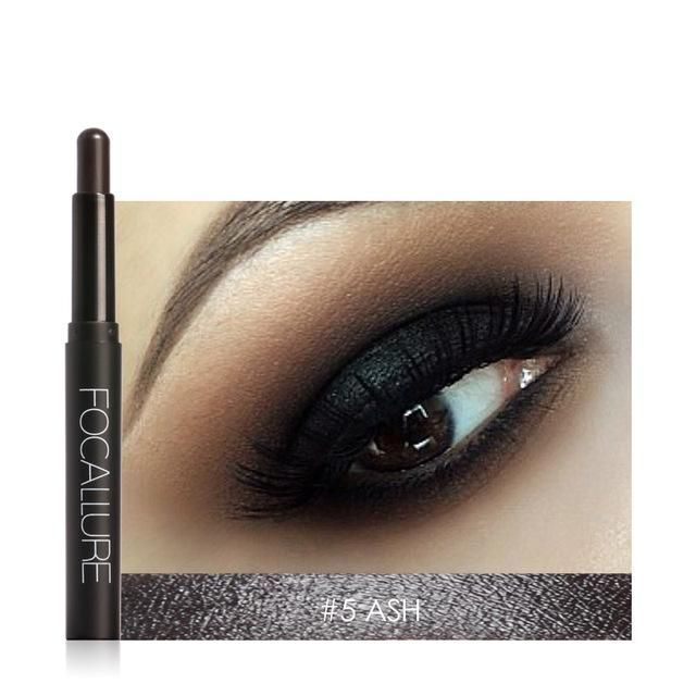 Focallure EyeShadow Pencil 12 Colors Shimmer Eye Shadow Natural Light Eyeshadow Easy to Wear Make Up Cosmetics #MakeupWakeup