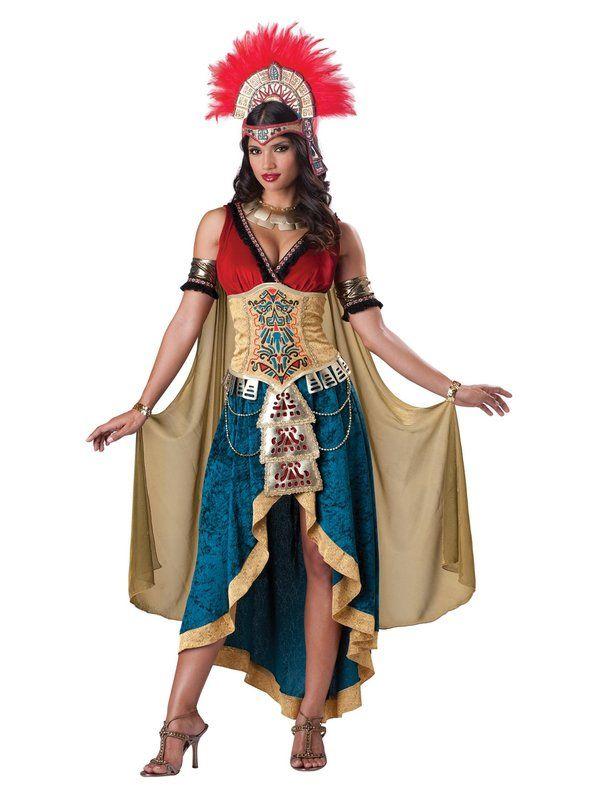 Maya Queen Adult Costume for Women