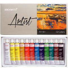 Monami Artist Akrilik Boya 12 Renk