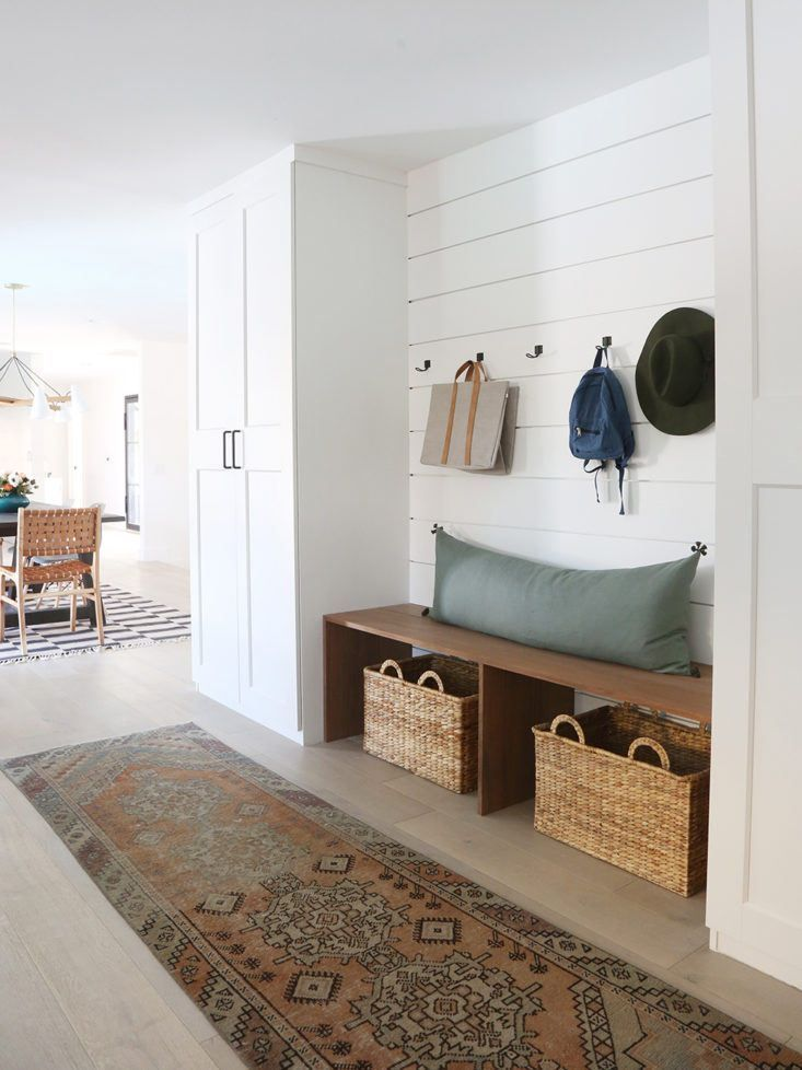 Mud Season Is Coming But Not Everyone Is Lucky Enough To Have A Dedicated Mudroom Blogger And Interior Designer J Casual Family Rooms Home Family Room Design
