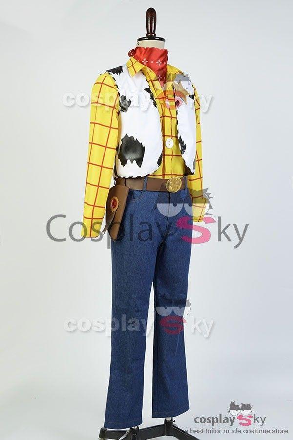 Disney Toy Story Sheriff Woody Cowboy Outfit Cosplay Kostuem   CosplaySky.de