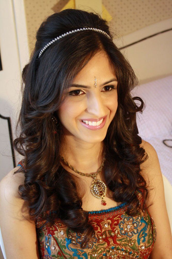 indian wedding hairstyle gallery%0A Image