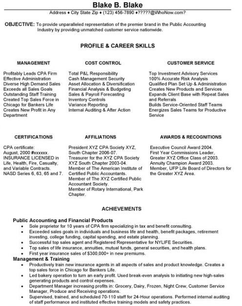 10 best resumes images on Pinterest Resume tips, Resume skills - cpa on resume