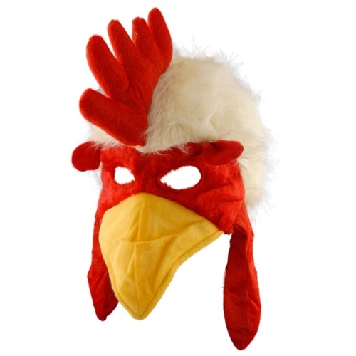 Wholesale Halloween Costumes - Rooster Hat Plush