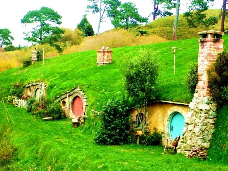 """Slovak Hobbitov"" in Liptovska Teplička, Slovakia... view large & Enjoy!"
